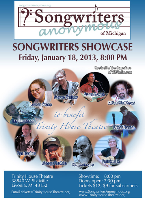 Songwriters Anonymous Showcase