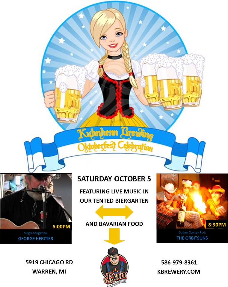 Kuhnhenn Brewing Co. Octoberfest Poster